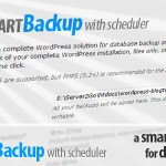 Smart Backup Plugin for WordPress